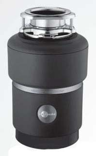 3/4 HP Continuous Feed Food Waste Disposer - PRO 750 / Evolution Series, 120 VAC, Black Enamel Black