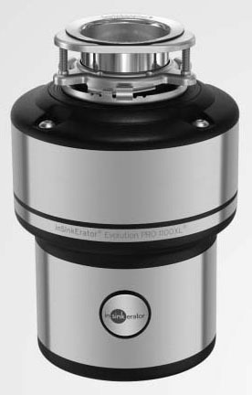 1.1 HP PRO Series Continuous Feed Food Waste Disposer, Stainless Steel