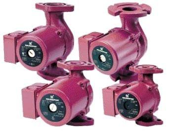 0.147 HP Circulator Pump - Stainless Steel, 21.6 GPM, 115 V