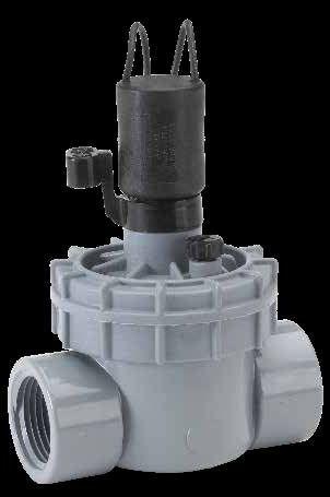 "1"" PVC Globe Valve - FPT, 10 to 150 psi"