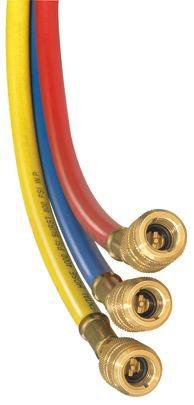 """1/4"""" x 60"""" Yellow Nitrile Secure Seal Hose - KOBRA, High Pressure"""