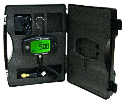 "1/4"" Male Flare Digital Vacuum Gauge - 0 to 12000 Micron, 500 psi"