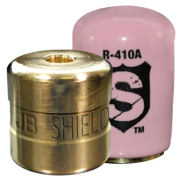 "1/4"" Refrigerant Locking Cap - Shield, Pink"