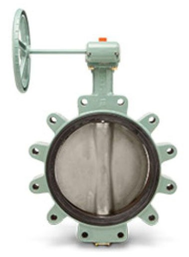 """10"""" Flanged Lug Butterfly Valve, Ductile Iron"""