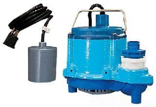 1/3 HP Sump Pump - Cast Iron, 46 GPM, 115 V