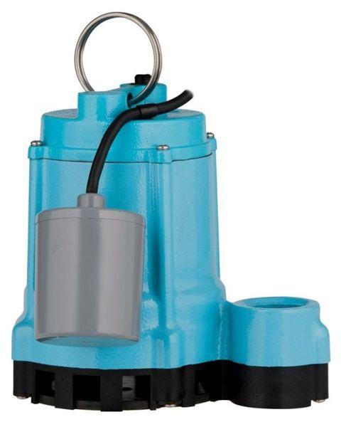 4/10 HP Sump Pump - Cast Iron, 80 GPM, 115 V