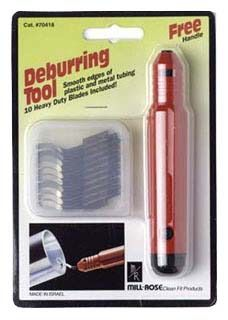 Deburring Tool - Carded Pack