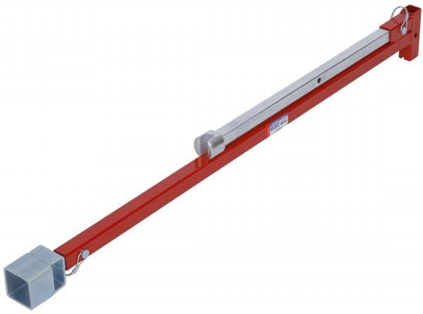 """45"""" Closed Length / 81"""" Open Length Steel Valve and Curb Key - 200 Lb-Foot, Strong Weld, Heavy Gauge"""