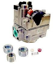 "1/2"" x 3/4"" Lever Actuated Water Heater Gas Valve - UNI-LINE, 150000 BTU"