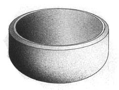 "2"" Heat Treated/Seamless Carbon Steel Round Head Cap"