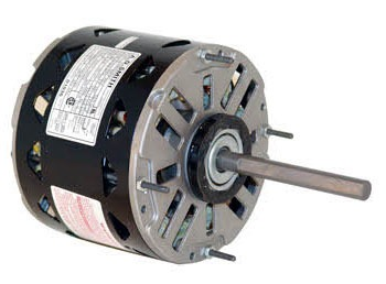 1/4 HP Blower Motor - 208 to 230 V, 1-Phase, 1075 RPM, 3-Speed