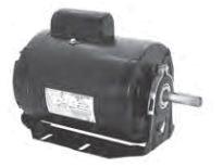 1/3 HP Evaporative Cooler Motor - 115 V, 1725 RPM, 1-Speed