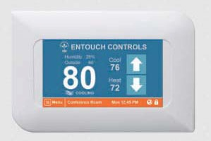 Built-In Wi-Fi Thermostat