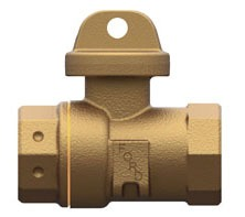 "3/4"" Threaded Service Valve, Brass"