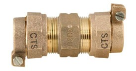 Lead-Free Brass Reducing Coupling