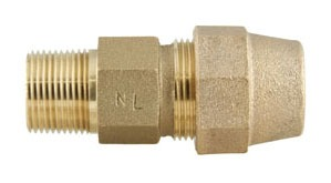 Lead-Free Brass Straight Coupling