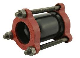 "2"" Fabricated Steel Standard Pipe Repair Coupling"