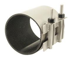 304 Stainless Steel Single Band Full Circle Pipe Repair Clamp