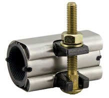 """1-1/2"""" 304 Stainless Steel Wrap Dual Armored Pipe Repair Clamp"""
