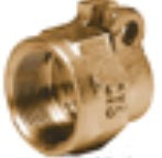 Brass Alloy Pack Joint Compression Tube Nut