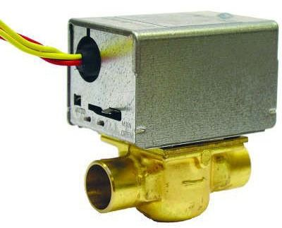 """3/4"""" Zone Valve - Soldered, 24 VAC, Normally Closed"""