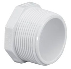 Injection Molded PVC Octagon Head Plug