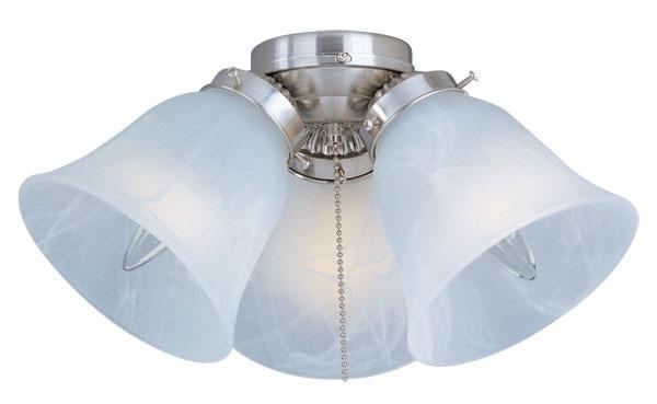 Ceiling Fan Light Kit, Satin Nickel