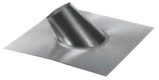 "3"" Round Steep Roof Flashing, Galvanized Steel"