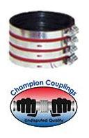 """3"""" 304 Stainless Steel Heavy Duty Pipe Repair Coupling"""