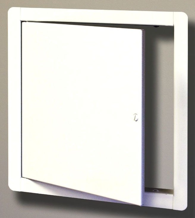 Flush to Frame Square Dry Wall Access Door, 304 Stainless Steel