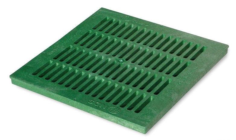 Square Drainage Catch Basin Grate, Polyolefin