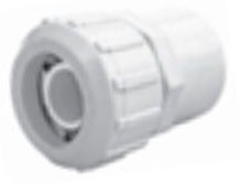 "3/4"" PVC Female Straight Adapter - FLO-LOCK, SDR 9, FPT x CTS"