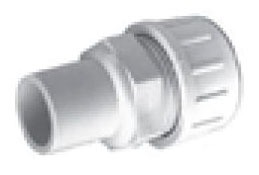 "1"" PVC Straight Adapter - FLO-LOCK, SDR 9, Spigot x CTS"