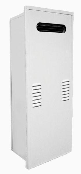 "16.5"" x 10.7"" x 40.9"" Water Heater Recess Box - Powder Coated, Steel"