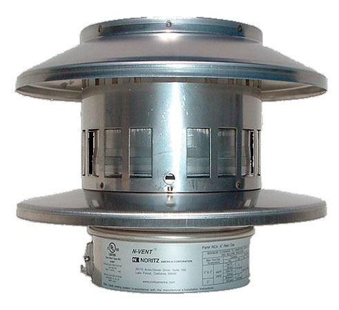 """5"""" Stainless Steel Vent Cap - Round"""