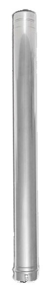 """5"""" x 12"""" Stainless Steel Straight Vent Pipe"""