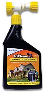 1850021 4372-24 TRICLEAN 2X  COIL CLEANER QT