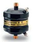 """Refrigerant Suction Line Filter Drier - Gold Label Premium, 7/8"""" ODF Soldered, 355 psi"""