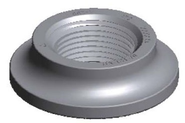 """1/2"""" Forged Steel Tank and Cylinder - Flat / Standard"""