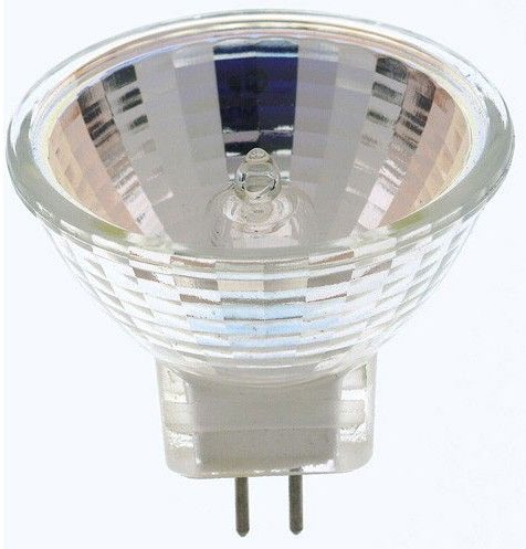 (S3194) 5MR11/NSP 5W 12V MR11 BI-PIN HALOGEN 9-DEGREE NARROW FLOOD LAMP (NO LENS COVER) JCRM12V5W