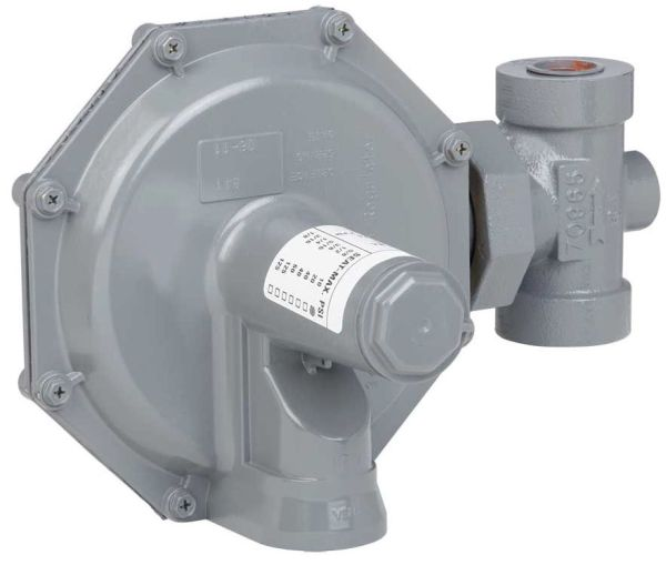 "3/4"" Cast Iron Standard Gas Regulator - FPT, 0.5 to 125 psi, Domestic"