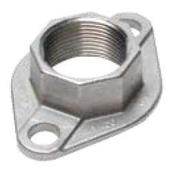"1"" Stainless Steel Threaded Flange Set"