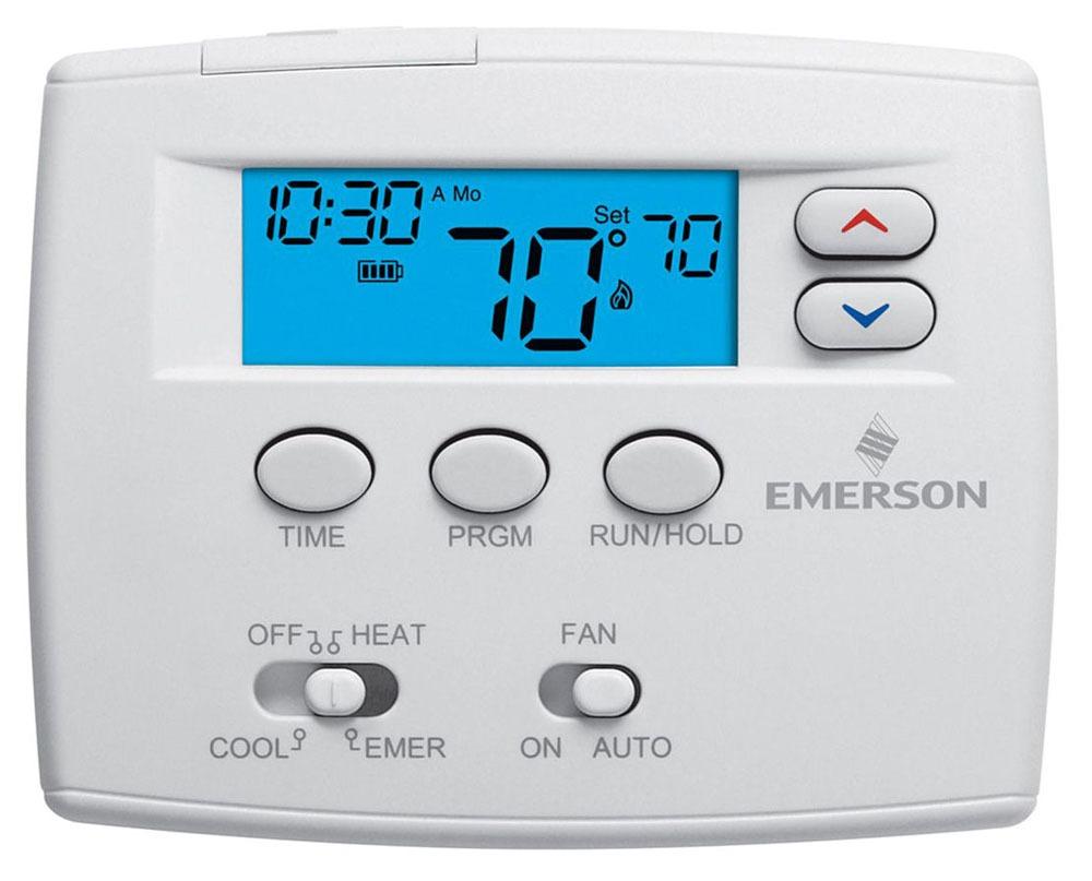 """Thermostat - Blue, 2"""" SQ Display, 30 VAC, 1.5 A"""