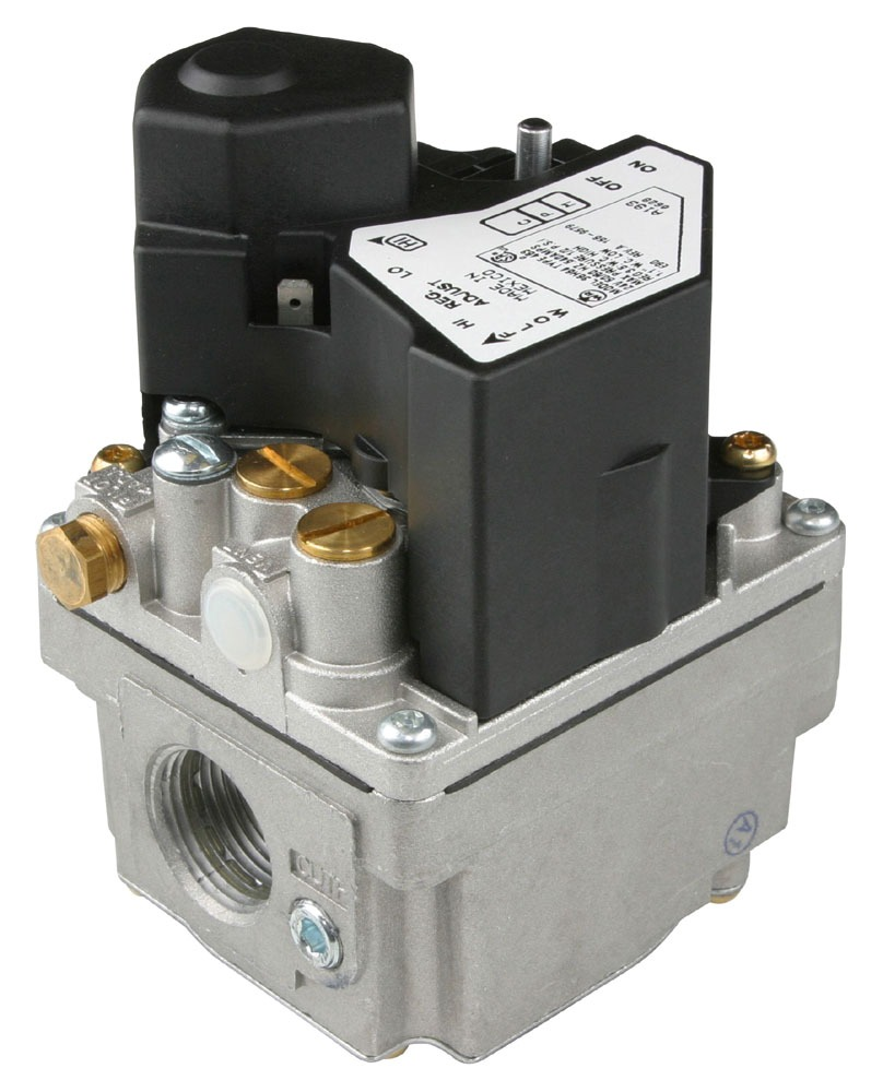 """3/4"""" x 3/4"""" Combination Gas Control Valve - Series 36H, NPT, 1/2 psi, 2-Stage, Fast Opening"""