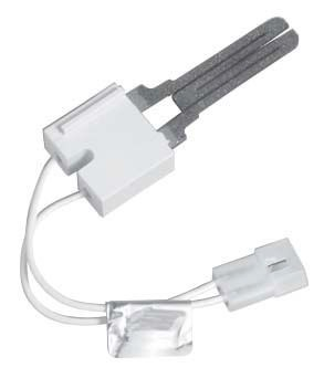 "Hot Surface Igniter - Silicon Carbide, 5.25"" L Lead Wire, 120 VAC, Receptacle with 0.093"" Male Pin"