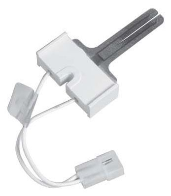 """Hot Surface Igniter - Silicon Carbide, 5.25"""" L Lead Wire, 120 VAC, Receptacle with 0.093"""" Male Pin"""
