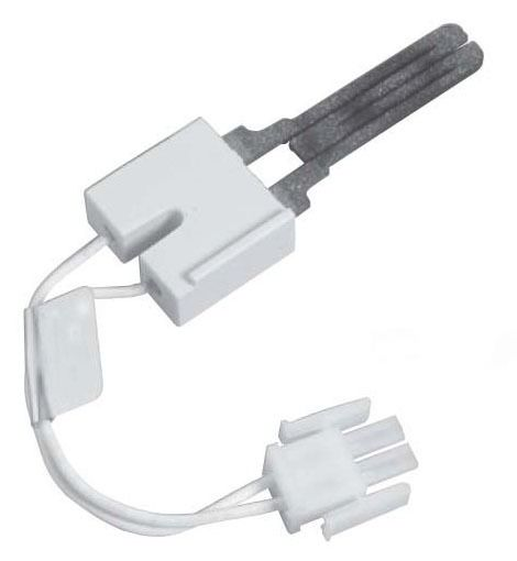 """Hot Surface Igniter - Silicon Carbide, 5.25"""" L Lead Wire, 120 VAC, Molex Side Lock Connector with 0.092"""" Male Pin"""