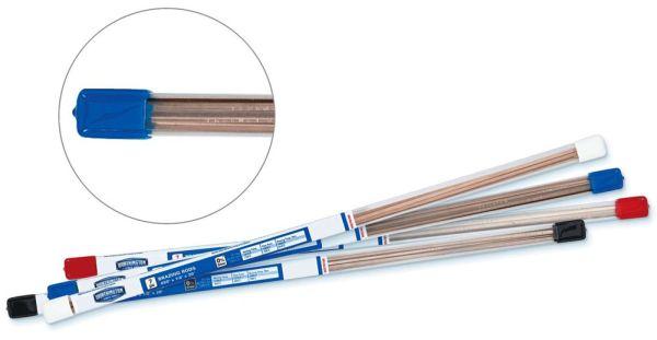 Flat Brazing Rod - 5 Percent Silver / 6 Percent Phosphorus / Balance Copper