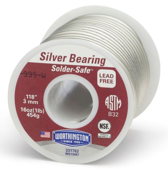 Bearing Solder Wire, Tin/Copper/Silver