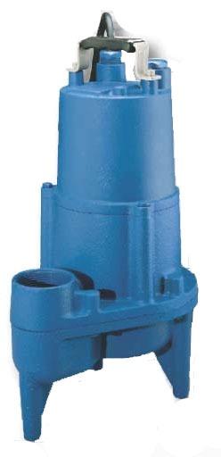 Vertical Submersible Sewage Pump, Cast Iron